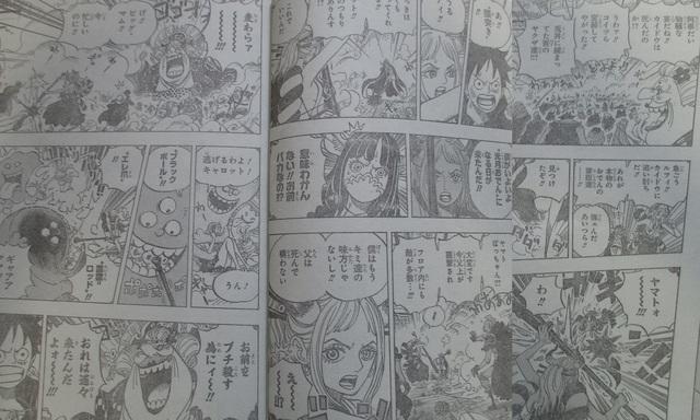 Spoiler One Piece Chap 987: Combat tổng bắt đầu diễn ra kịch liệt, Kaido hóa rồng đấu tộc Mink trong dạng Sulong - Ảnh 3.
