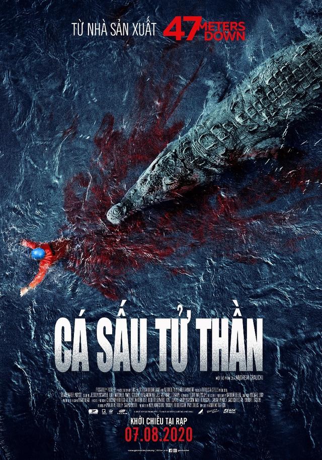 """Trải nghiệm """"cuộc đi săn đẫm máu"""" trong Cá Sấu Tử Thần để thách ..."""