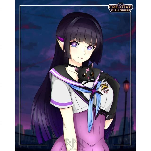 Liên Quân Mobile: Loạt Fan Art chủ đề TelAnnas Vệ Thần cực dễ thương được game thủ tự sáng tạo - Ảnh 4.