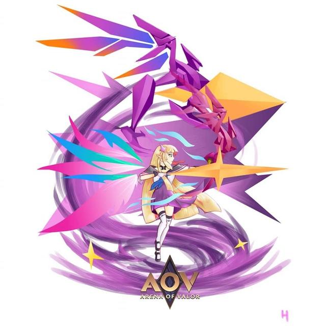 Liên Quân Mobile: Loạt Fan Art chủ đề TelAnnas Vệ Thần cực dễ thương được game thủ tự sáng tạo - Ảnh 6.