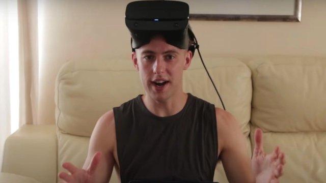 Hoàn thành thử thách chơi game kinh dị thực tế ảo suốt 24h, Youtuber trở nên ngớ ngẩn, thẫn thờ ngay sau đó - Ảnh 1.