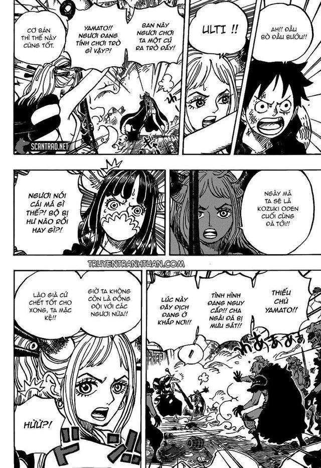 One Piece 987: Dứt tình cha con, Yamato muốn cùng Luffy đánh bại Kaido - Ảnh 1.