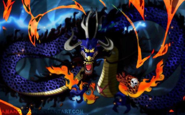 One Piece: Kaido trong dạng hóa Rồng mạnh như thế nào, một cú thở nhẹ thổi bay cả một tòa thành? - Ảnh 2.