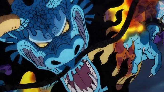 One Piece: Kaido trong dạng hóa Rồng mạnh như thế nào, một cú thở nhẹ thổi bay cả một tòa thành? - Ảnh 3.