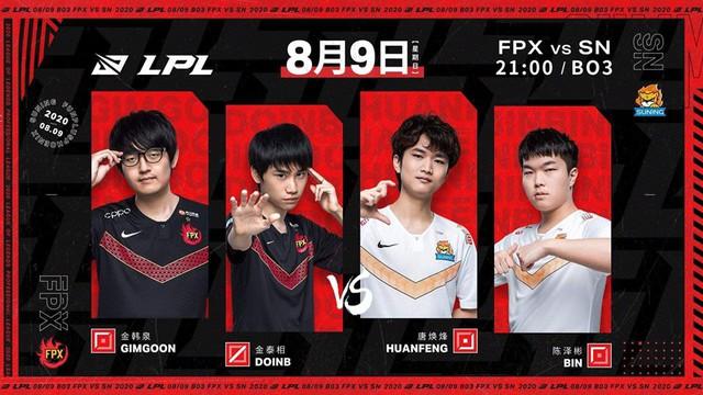 Trận đấu của Suning và FunPlus Phoenix bị lùi lịch vì tuyển thủ bất ngờ sốt cao - Ảnh 1.