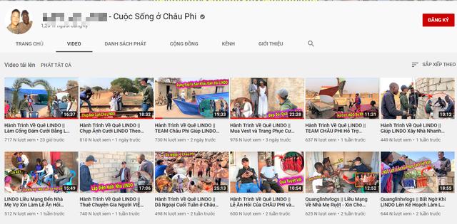 Mang ghế tình yêu làm quà tặng đám cưới ở châu Phi, chàng Youtuber Việt khiến dân mạng cười không ngớt - Ảnh 1.