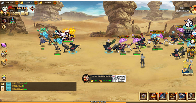 Big Update Ninja Làng Lá khai thác đa dạng khía cạnh thế giới Naruto huyền thoại - Ảnh 6.