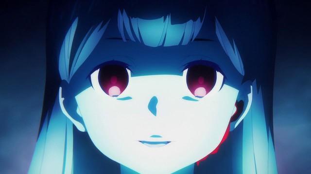 Hình ảnh có phần kinh dị của Alice trong SAO Alicization: War of Underworld tập 21