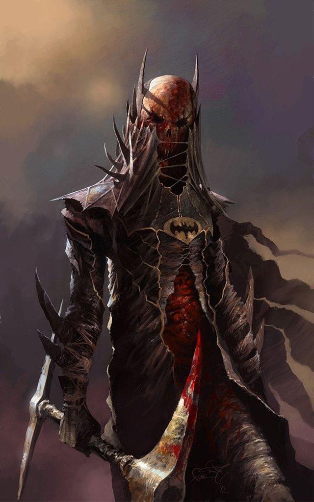 10 siêu anh hùng DC được mô phỏng thành những nhân vật phản diện đáng sợ qua tác phẩm của người hâm mộ - Ảnh 1.