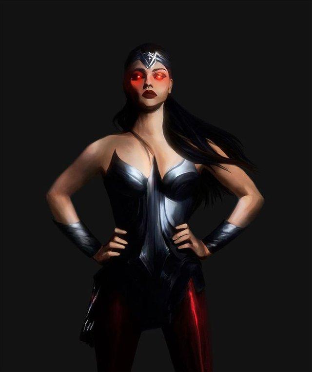 10 siêu anh hùng DC được mô phỏng thành những nhân vật phản diện đáng sợ qua tác phẩm của người hâm mộ - Ảnh 2.