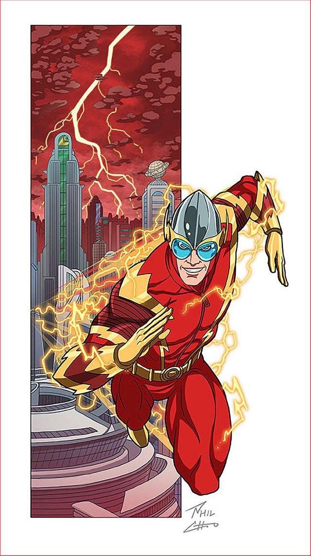 10 siêu anh hùng DC được mô phỏng thành những nhân vật phản diện đáng sợ qua tác phẩm của người hâm mộ - Ảnh 7.