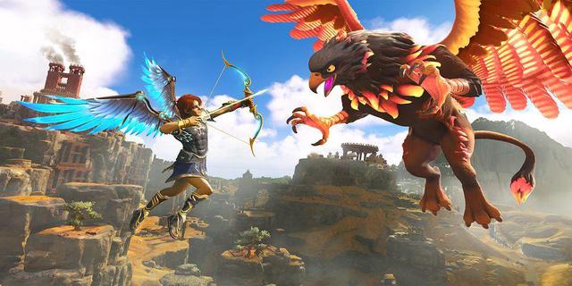 Ubisoft ra mắt tựa game kết hợp giữa Assassins Creed Odyssey và Breath of the Wild - Ảnh 2.