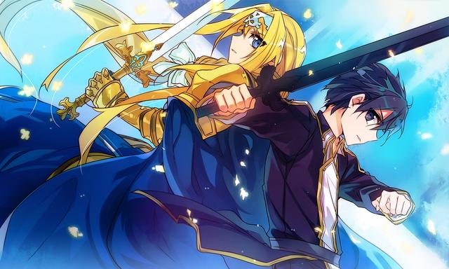 Kirito và Alice đã đồng hành cùng nhau trong nhiều trận chiến