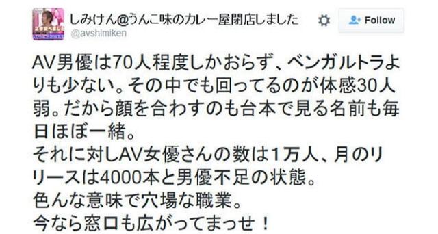 Ken Shimizu gây bất ngờ khi cảnh báo nền công nghiệp AV có thể diệt vong, so sánh diễn viên nam với động vật cần được bảo tồn - Ảnh 2.