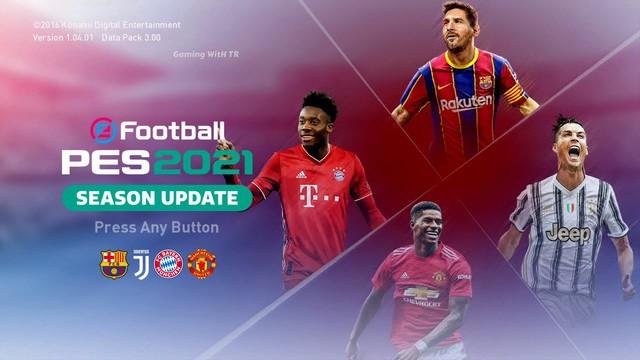 Hướng Dẫn Update Pes 21 PS4 Logo Áo Đấu CLB Tháng 9/2020
