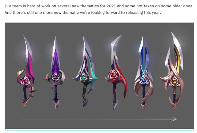 Săm soi 6 thanh kiếm bí ẩn của Riot, cộng đồng LMHT phát hiện ra nhóm trang phục Thần Hỏa sắp ra mắt - Ảnh 1.