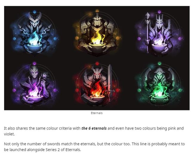 Săm soi 6 thanh kiếm bí ẩn của Riot, cộng đồng LMHT phát hiện ra nhóm trang phục Thần Hỏa sắp ra mắt - Ảnh 3.