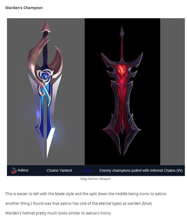 Săm soi 6 thanh kiếm bí ẩn của Riot, cộng đồng LMHT phát hiện ra nhóm trang phục Thần Hỏa sắp ra mắt - Ảnh 4.