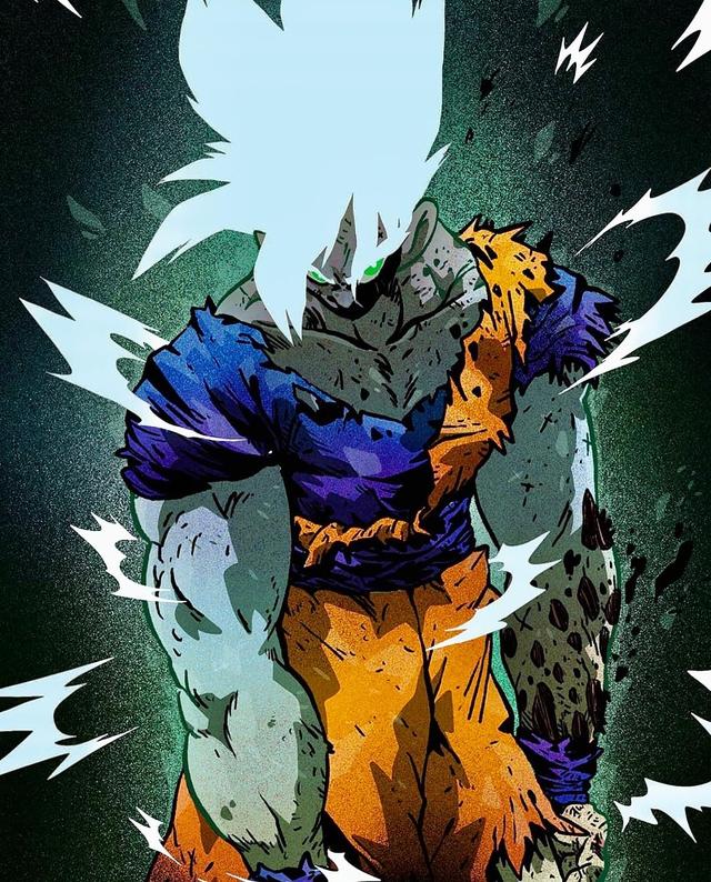 Giật mình khi thấy các nhân vật trong Dragon Ball được vẽ theo phong cách zombie - Ảnh 1.