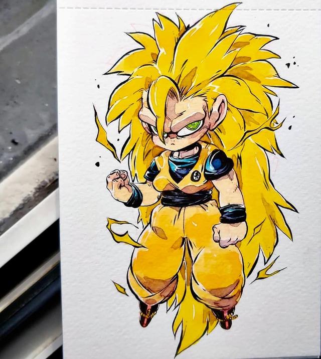 Giật mình khi thấy các nhân vật trong Dragon Ball được vẽ theo phong cách zombie - Ảnh 8.