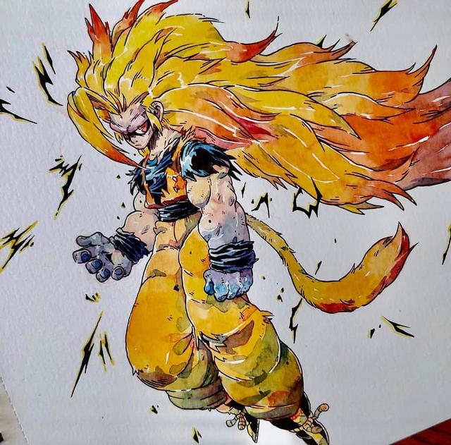 Giật mình khi thấy các nhân vật trong Dragon Ball được vẽ theo phong cách zombie - Ảnh 18.