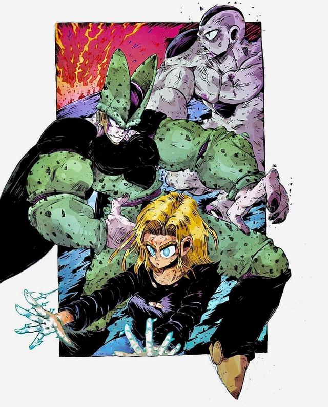 Giật mình khi thấy các nhân vật trong Dragon Ball được vẽ theo phong cách zombie - Ảnh 19.