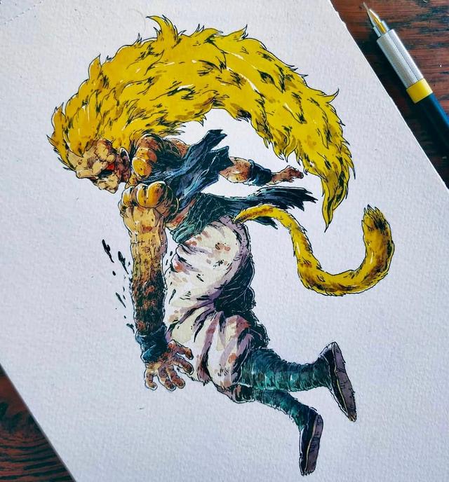Giật mình khi thấy các nhân vật trong Dragon Ball được vẽ theo phong cách zombie - Ảnh 22.