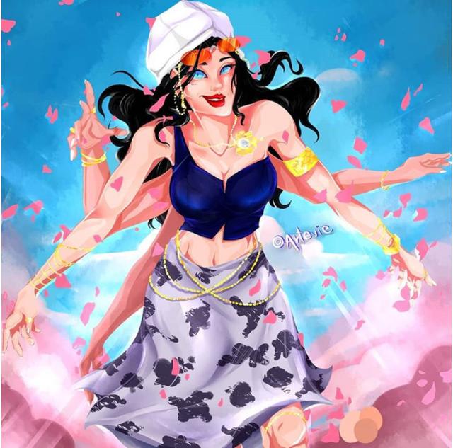One Piece: Ngắm loạt fan art cực đỉnh về nàng khảo cổ của băng Mũ Rơm, dịu dàng hay cá tính đều mê cả - Ảnh 4.