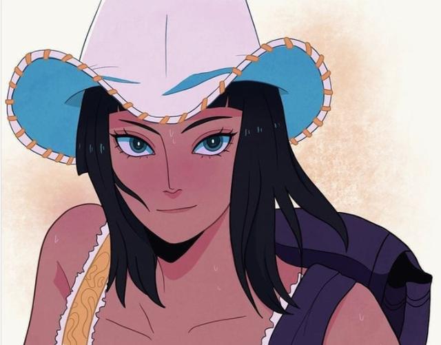 One Piece: Ngắm loạt fan art cực đỉnh về nàng khảo cổ của băng Mũ Rơm, dịu dàng hay cá tính đều mê cả - Ảnh 6.