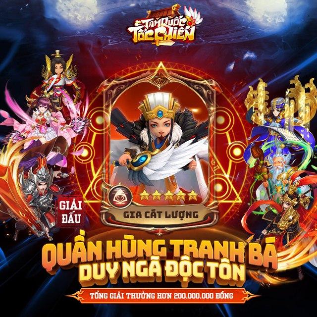 Ngụy Quốc Hùng Binh - Big update 6.1 mừng 6 tháng ra mắt của Tam Quốc Tốc Chiến chính thức ra mắt, tặng Giftcode siêu ngon - Ảnh 6.