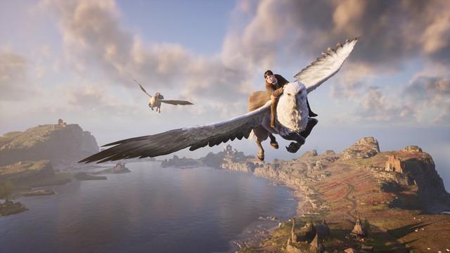 Xuất hiện game nhập vai, thế giới mở đầu tiên về Harry Potter, đồ họa siêu đỉnh, chơi trên PS5 - Ảnh 2.