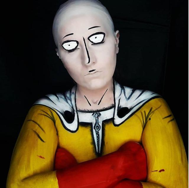 One Punch Man: Cạn lời khi ngắm loạt ảnh cosplay Saitama, thấp bé nhẹ cân đến chuyển giới cũng có - Ảnh 1.