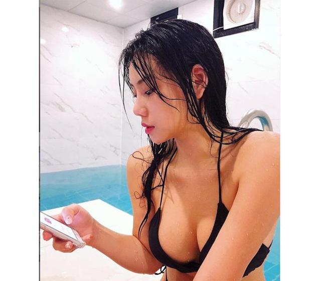 Bị cộng đồng mạng chê béo, nàng hot girl vẫn tăng follow vù vù nhờ vào vòng một đẹp phồn thực - Ảnh 3.