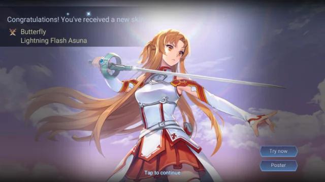 Liên Quân Mobile: Tận dụng tốt Giấy vẽ, Butterfly Asuna Tia Chớp tới tay game thủ hoàn toàn FREE - Ảnh 2.