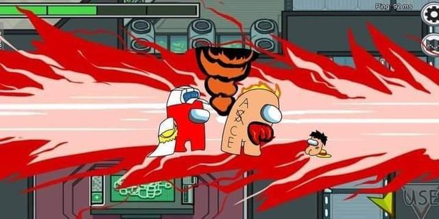One Piece: Bá đạo với loạt ảnh trận chiến Wano quốc mang phong cách tựa game Among Us - Ảnh 7.