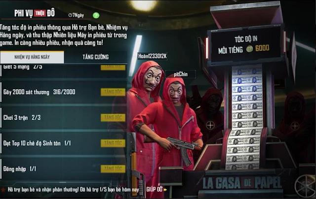 Free Fire và phi vụ Triệu Đô: Màn hợp tác hoành tráng với Series phim Money Heist - Ảnh 2.