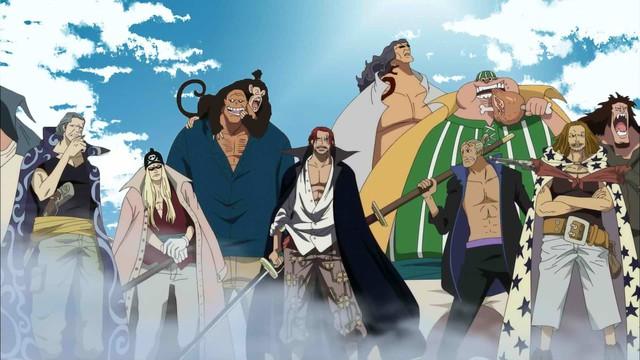 One Piece: Ngẩn ngơ ngắm Tứ hoàng Shanks cùng 3 thành viên mạnh nhất băng Tóc Đỏ diện trang phục Wano quốc - Ảnh 1.