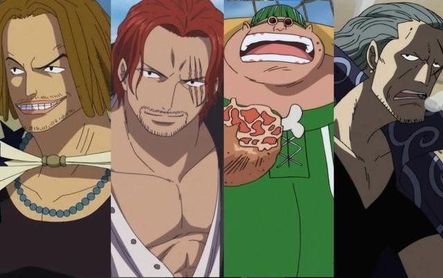 One Piece: Ngẩn ngơ ngắm Tứ hoàng Shanks cùng 3 thành viên mạnh nhất băng Tóc Đỏ diện trang phục Wano quốc - Ảnh 2.