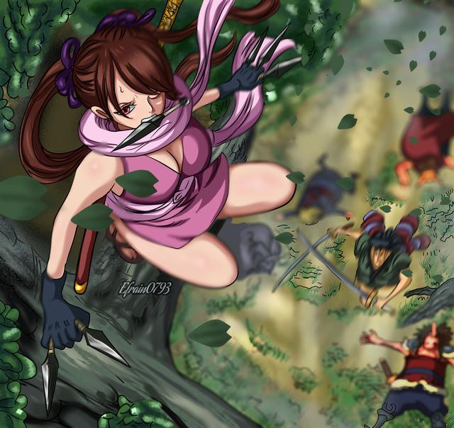 One Piece: Thời gian thật đáng sợ, mỹ nữ Wano cũng không thể thoát khỏi lời nguyền của Oda - Ảnh 1.