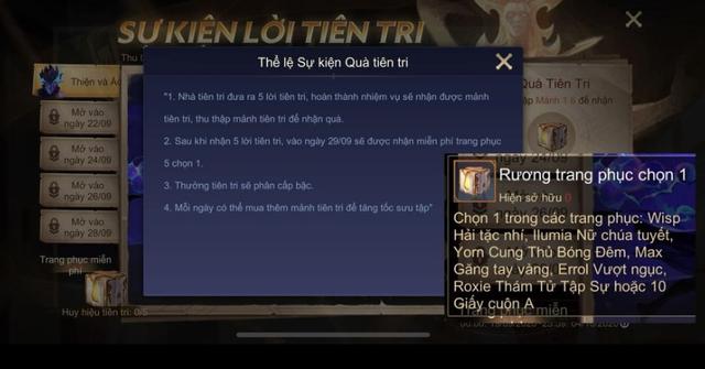 Liên Quân Mobile: Garena đồng loạt tặng FREE lô skin bậc A tự chọn mừng bản Update mới - Ảnh 2.