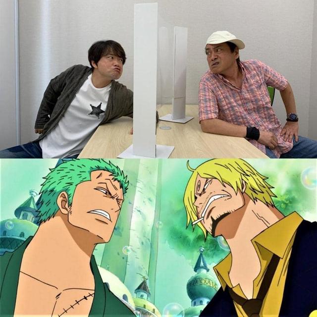 One Piece: Đây là cách đặc biệt mà 2 diễn viên lồng tiếng phải làm để diễn tả cảnh Zoro đối đầu Sanji - Ảnh 2.