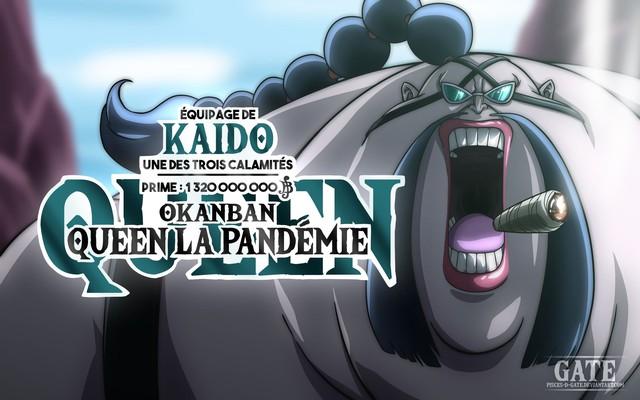 One Piece: Queen Bệnh Dịch, người tấu hài hay là kẻ hai mặt trong băng Bách Thú? - Ảnh 1.