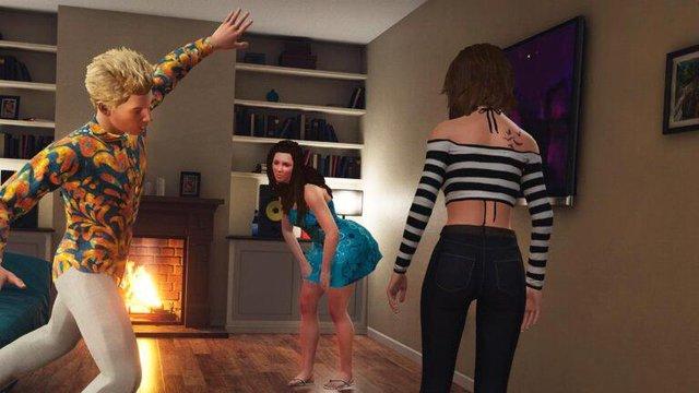 Xuất hiện tựa game đưa người chơi tham gia tiệc tùng, đốt lửa trại và cả tán gái - Ảnh 2.