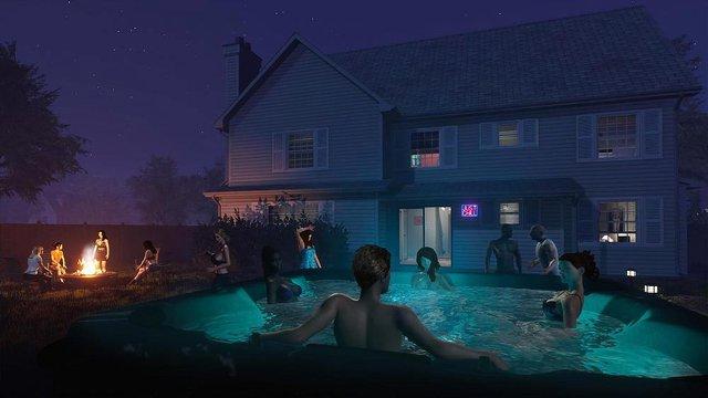 Xuất hiện tựa game đưa người chơi tham gia tiệc tùng, đốt lửa trại và cả tán gái - Ảnh 3.
