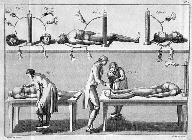 Vào những năm 1800 nhân loại đã cố gắng tạo ra quái vật của Frankenstein ngoài đời thực bằng cách kích điện xác chết - Ảnh 3.