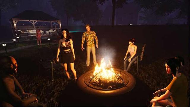 Xuất hiện tựa game đưa người chơi tham gia tiệc tùng, đốt lửa trại và cả tán gái - Ảnh 4.