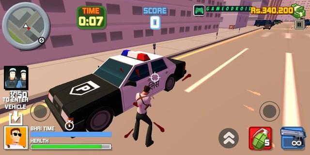 """Đừng đùa, Ấn Độ làm được nhiều game mobile giống hệt GTA với các pha hành động đậm chất """"cô dâu tám tuổi"""" - Ảnh 6."""