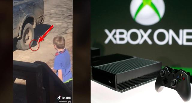 Ông bố dùng xe tải cán nát Xbox One vì tức giận con cái không chịu dọn nhà - Ảnh 1.
