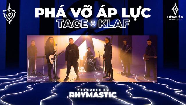 Phá Vỡ Áp Lực - Bài hát của Đấu Trường Danh Vọng mùa Đông 2020 gây sốt với sự góp mặt của Tage, KLAF và Rhymastic - Ảnh 2.