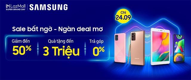 Samsung tiếp tục hợp tác với Lazada nhằm khuấy động người tiêu dùng khắp Đông Nam Á với những chương trình khuyến mãi độc đáo - Ảnh 2.